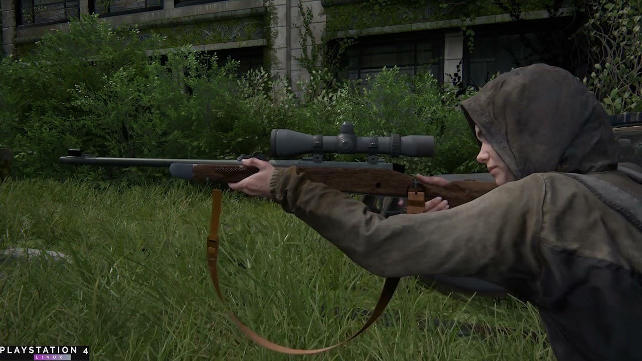 TLOU2 | Ellie empty gun trigger sound | Free cam | Debug menu | PS4 PRO 7.55
