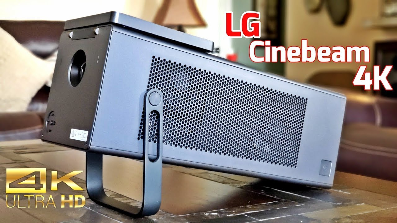 LG CineBeam Laser 4K HU80KA - Projector - Can't Believe My Eyes!
