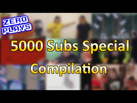 CAZ 5000 Subscribers Compilation Video