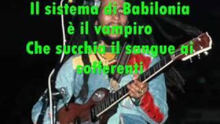 babylon system bob marley traduzione in italiano