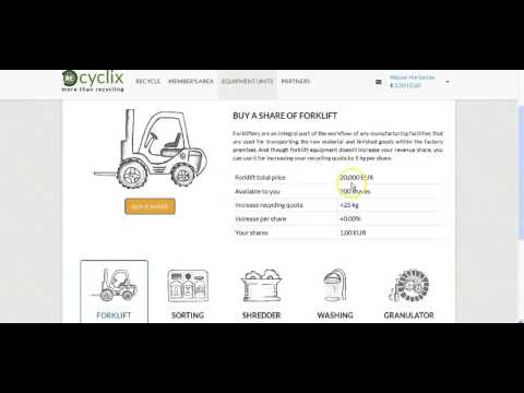 How To Make Easy Money Online With Recyclix! Review, News, € 20 Bonus.