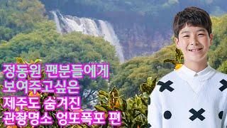 정동원 팬분들에게 보여주고싶은 제주도 숨겨진 관광명소 …