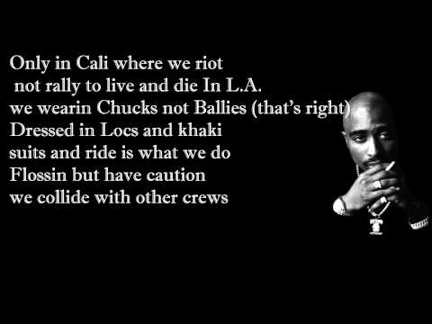 2pac feat. Dr. Dre - California Love with Lyrics...
