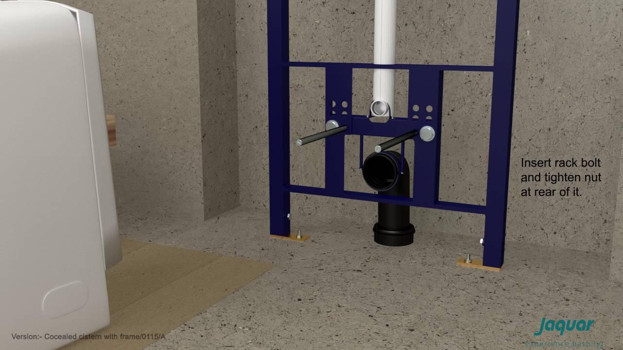 Jaquar Cistern Installation Youtube