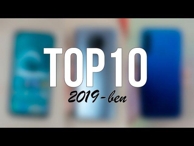TOP 10 okostelefon 2019-ben