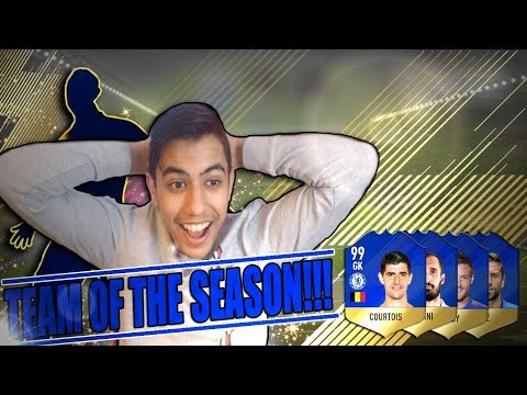 TEAM OF THE SEASON!!! FIFA 18 PÅ SVENSKA!!