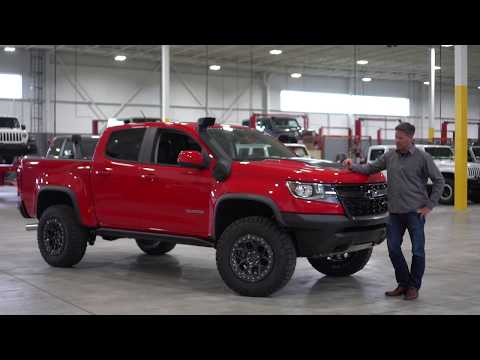 AEV's Founder Dave Harriton Releases Chevy Colorado ZR2 Parts