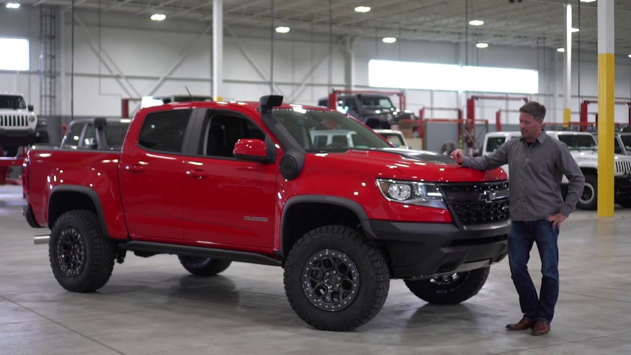 AEV's Founder Dave Harriton Releases Chevy Colorado ZR2 ...
