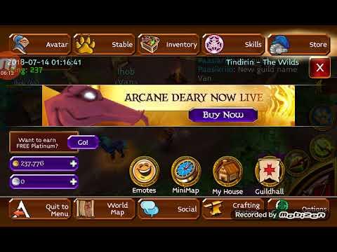 ARCANE LEGENDS | Bought Arc Bow ( Immortal)