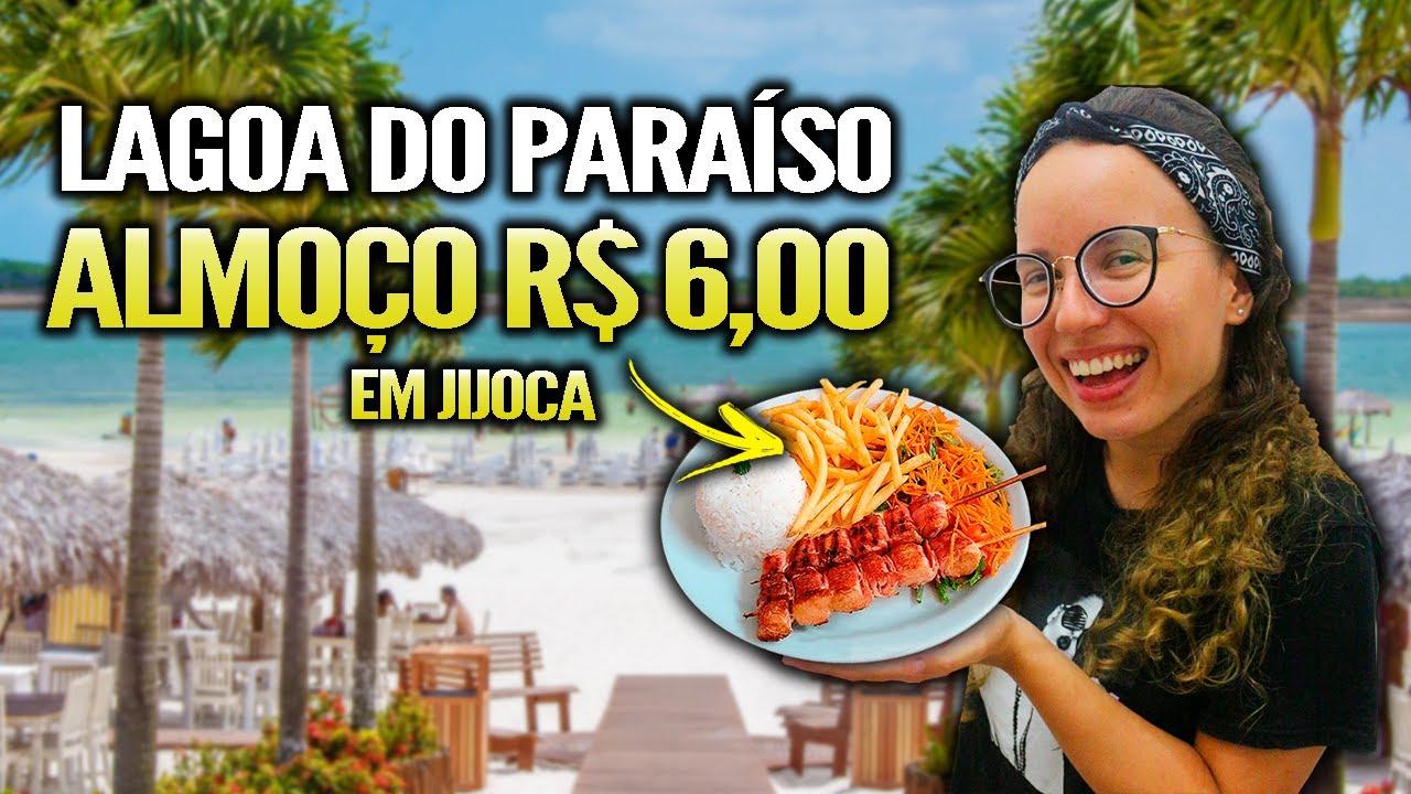 Conhecendo JIJOCA DE JERICOACOARA (Almoço em Restaurante po R$ 6,00)