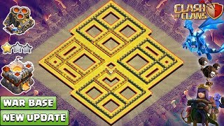 NEW TH11 War Base 2018 | Town Hall 11 base 2018 | Anti QueenWalk, Electro Dragon - Clash of Clans