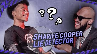 SHARIFE COOPER IS A LIAR!! Says He