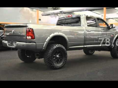 Lifted Ram 3500 >> 2012 Ram 3500 LIFTED CUMMINS DIESEL LONG BED DLETED TUNED 6.7 for sale in Milwaukie, OR - YouTube