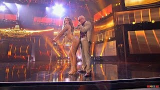Скачать Jennifer Lopez Feat Pitbull On The Floor Live American Idol HD