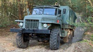 Урал 375 & КрАЗ 214 im Gelände 6x6 Offroad V8 2020