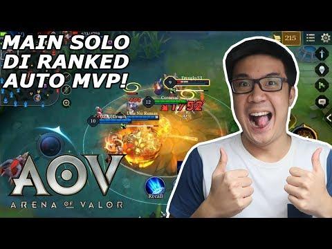 Main Solo Di Ranked = Auto MVP! - Arena of Valor (Indonesia)