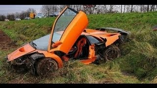 Repeat youtube video accidentes de coches CAROS, luxury car accident, (new compilation 2013)