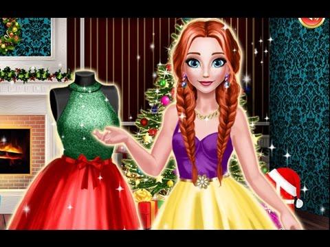 ОДЕВАЛКИ, МАНИКЮР! Игра Новогодний маникюр Эльзы! Игры для девочек ОНЛАЙН БЕСПЛАТНО! Мультик! #игры