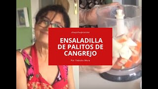 Cangrejo palitos diabetes de