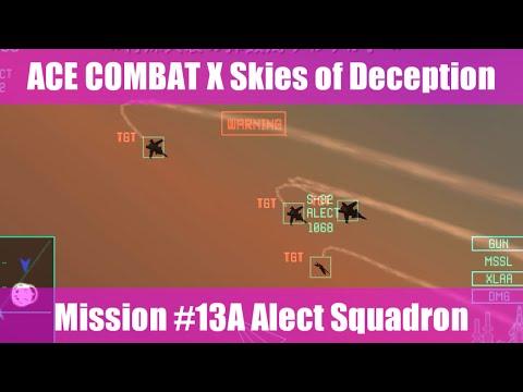 [M:13A] エースコンバットX スカイズ・オブ・デセプション/ACE COMBAT X Skies of Deception