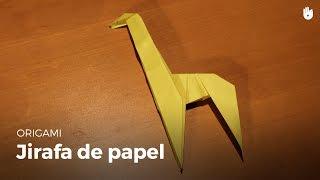 Origami: Jirafa