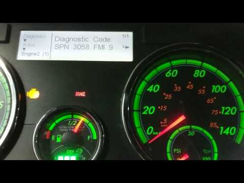 Reading Fault Codes From A Cascadia Dash Pt 3