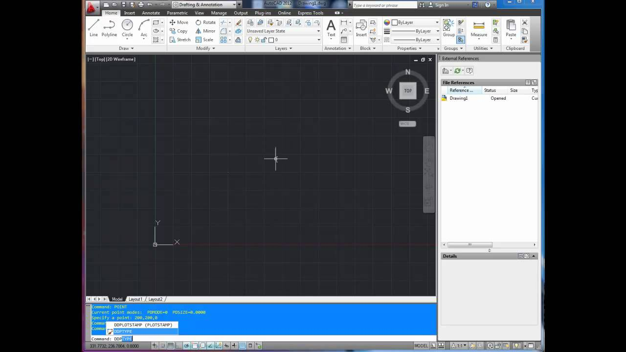 autocad tutorial add a point how to change point style youtube rh youtube com autocad 2014 manual free download autocad 14 manual pdf
