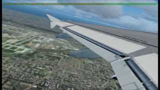 FS2004 - Full Flight from Chicago O'Hare to Las Vegas(1/2)