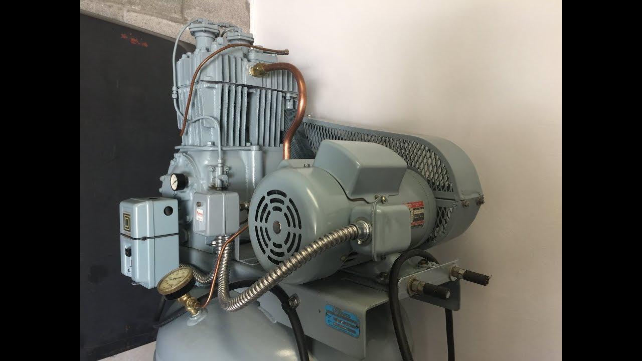 Quincy 325 Air Compressor Restoration Youtube