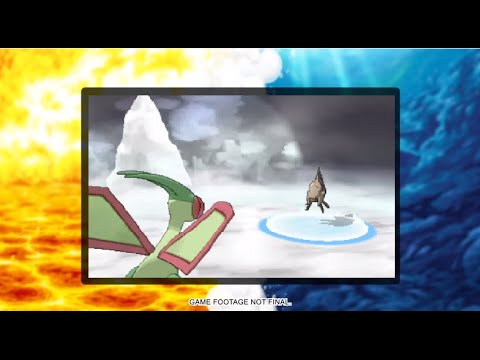 Mega Flygon Confirmed Omega Ruby And Alpha Sapphire And