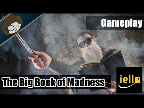 Lets Play - The Big Book of Madness - Cooperative Deck Building Game