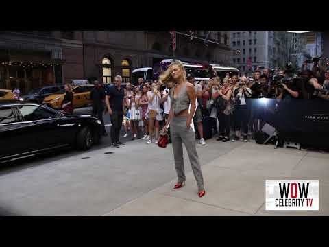 Nina Agdal spotted at Fashion Awards in Nyc for Fashion Week