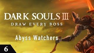 Скачать Dark Souls 3 Draw Every Boss Abyss Watchers