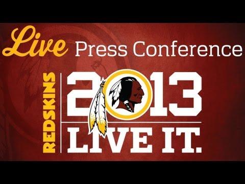 London Fletcher Post Practice Press Conference: 09/11/13