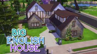 BIG ENGLISH HOUSE | The Sims 4: Speed Build (NO CC)