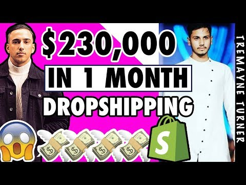 How My Student Made $224,000 In 1 Month   SHOPIFY DROPSHIPPING