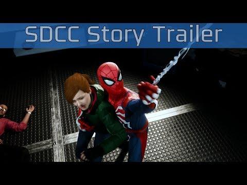 Marvel's Spider-Man - San Diego Comic-Con 2018 Story Trailer [4K 2160P]