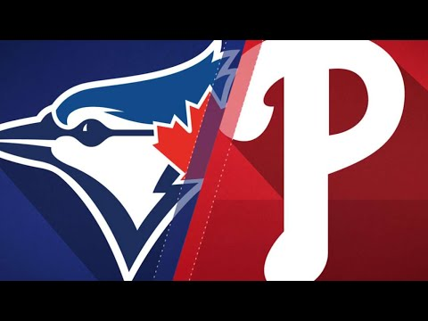 Smoak homers as Toronto holds off Phils, 6-5: 5/25/18