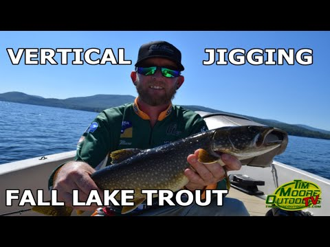 Vertical Jigging For Fall Lake Trout On Lake Winnipesaukee