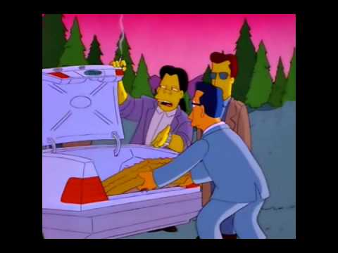 Simpsons - Raging Abe Simpson And His Grumbling Grandson (Kraftwerk Scene)