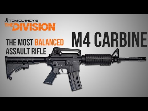 The Division Weapon Guide - M4 Remake (Statistics, Mods, Talents and Set-Up)