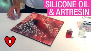 Silicone Oil and Epoxy Resin