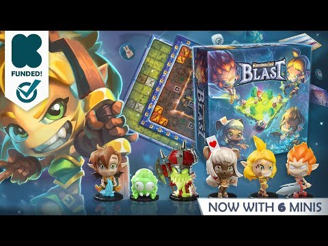 KROSMASTER BLAST - KICKSTARTER - Ankama Boardgames