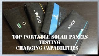 ☀️Top Solar Panels - Testing Efficiency with a Digital Meter