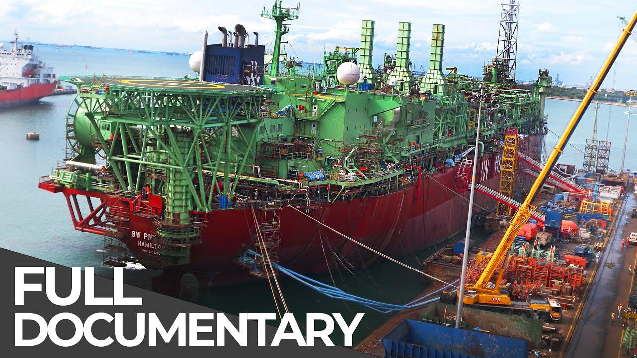 Download Floating Deep Sea Oil Rig   Ultimate Tanker   Free Documentary