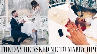 THE DAY WE GOT ENGAGED | THE UNSEEN VLOG | Lydia Elise Millen | THE BRIDAL EDIT
