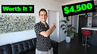 NYC Apartment Tour- Paying $4,500 in a Luxury Building?! (Lower East Side, Manhattan 2020)(700 sqft)