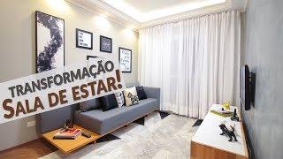 DIY: TRANSFORMANDO A SALA DE ESTAR PEQUENA