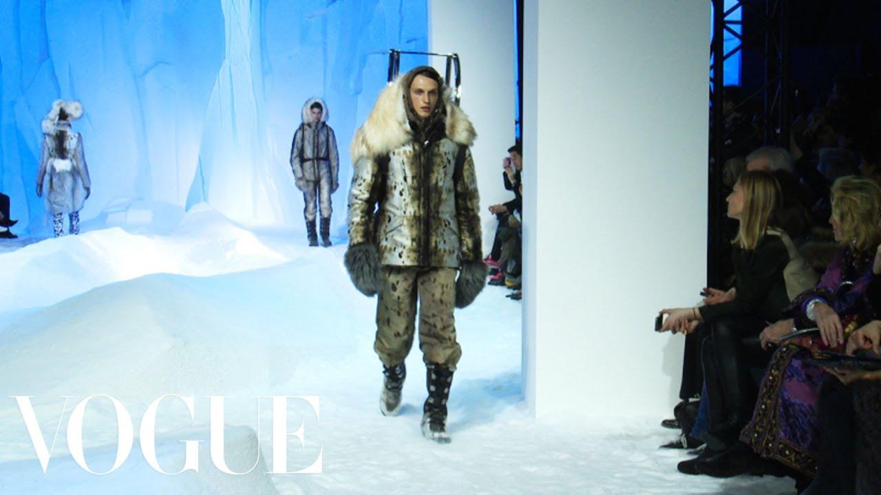 e3665fd94 Moncler Gamme Rouge Ready to Wear Fall 2013 Vogue Fashion Week Runway Show