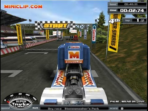 Miniclip Games - Play Truck Racing Games Online | Games Sports Super Trucks - YouTube